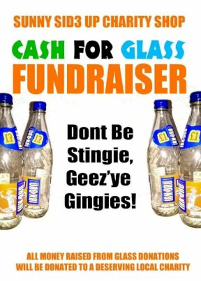 Cash for Glass fund-raising